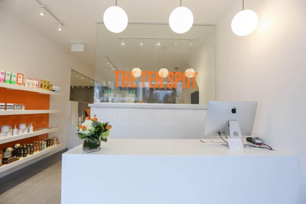 THE TEN SPOT® beauty bar in bloor-west
