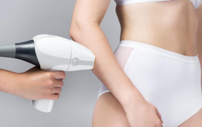 laser hair removal arm