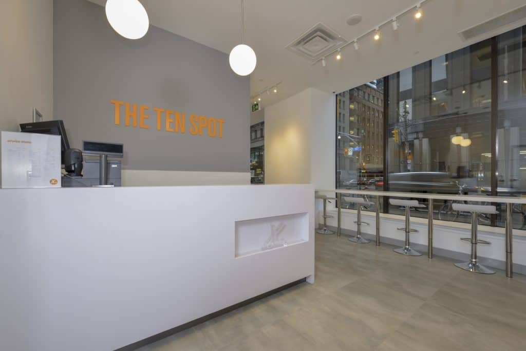 THE TEN SPOT® beauty bar in hbc queen