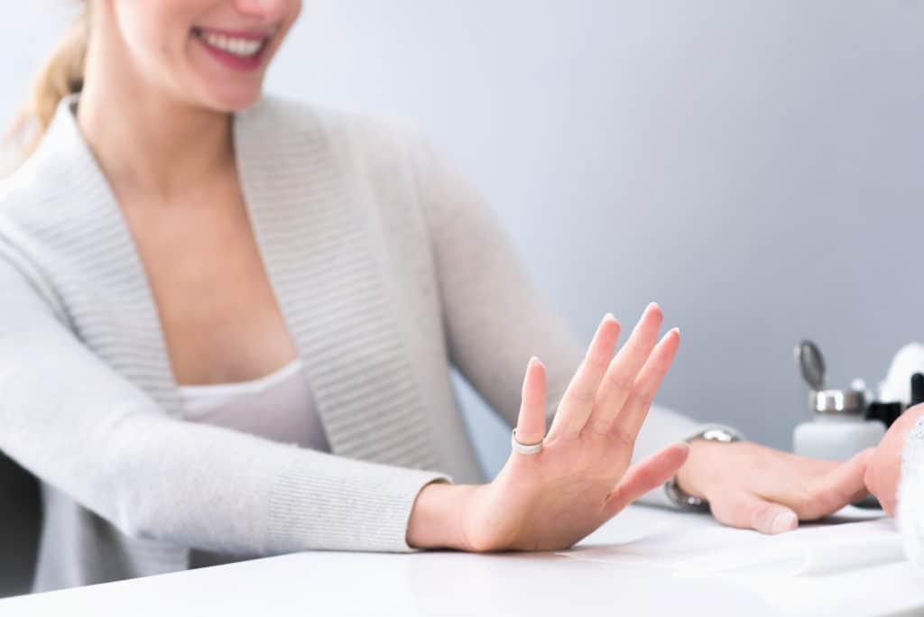 manicure at THE TEN SPOT® yonge eglinton